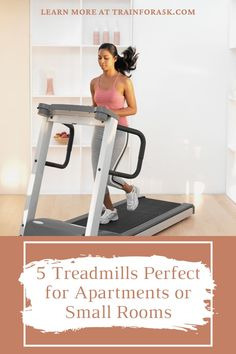 Compact, yet capable treadmills are a perfect fit for apartments that have a premium on extra space. These small treadmills sit quietly in the corner until you're ready to use it in the morning or after an exhausting day at work. Below, you'll get to see the four best treadmills for apartments. These machines can definitely get you into shape while leaving only a small footprint.