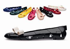 flat plastic shoes