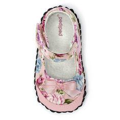 Pediped Originals® Louisa Pink Floral - DittoStepsHK