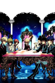 Katekyo Hitman Reborn, Vongola the first and his guardians