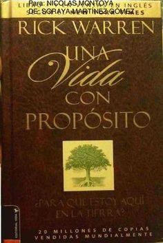 Una Vida con Propósito_Nicolas  Una Vida Con Proposito DIos