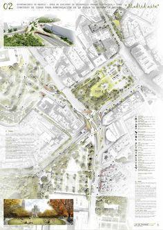 Estas son las propuestas que compiten para remodelar la Plaza España en Madrid,Madrid aire. Image © Difusión Ayuntamiento de Madrid