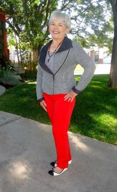 Styling clothes for the mature woman