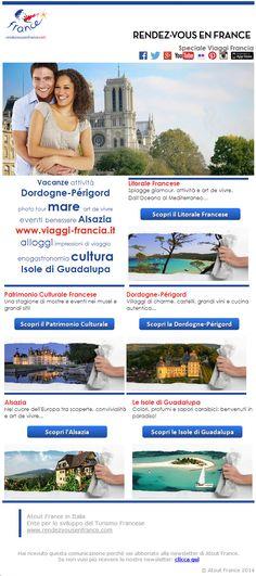 Scopri le nostre idee di viaggio per l'estate 2014 #ViaggiFrancia #ViaggiAlsazia #ViaggiGuadalupa #ViaggiDordogne #MareFrancia #CulturaFrancia #Francia #RDVFrance