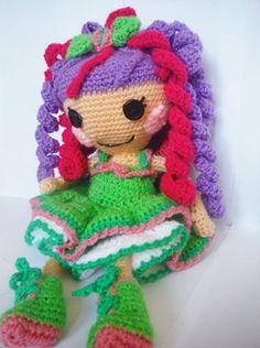 Muñeca Personalizada Lalaloopsy #muñeca lalaloopsy #muñeca amigurumi #amigurumi…