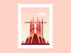 Animated Post Stamps - I francobolli animati di Claudia Mussett | Collater.al