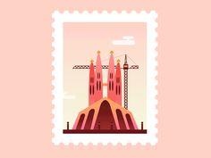 Animated Post Stamps - I francobolli animati di Claudia Mussett   Collater.al