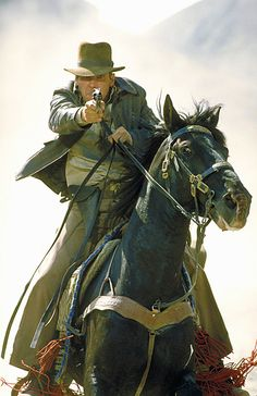 "Harrison Ford as ""Indiana Jones"" in a screen still from ""Indiana Jones and the Last Crusade"", 1989"