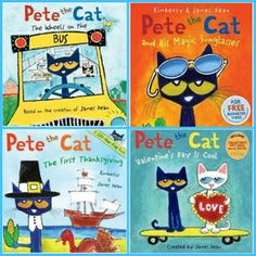 NEW Pete the Cat!!!>>>looooooooove these books! You can hear the songs online too! I love my white shoes : )