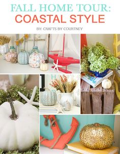 Looking for some great Fall inspiration!?! I'm going coastal with our Fall theme this year. I hope you can sit back and enjoy my Fall/Coastal theme tour!