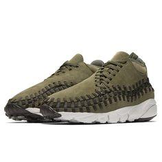 Nike Air Footscape Woven Chukka (443686-300) Olive  USD 125 HKD 980 Release on 26 Sep #solecollector #dailysole #kicksonfire #nicekicks #kicksoftoday #kicks4sales #niketalk #igsneakercommuinty #kickstagram #sneakflies #hyperbeast #complexkicks #complex #jordandepot #jumpman23 #nike #kickscrew #kickscrewcom #shoesgame #nikes #black #summr #hk #usa #la #ball #random #girl #adidas