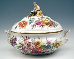 Meissen Lidded Soup Tureen for Collection 19th C. at 1stdibs