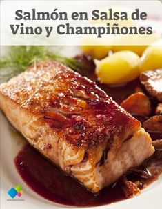 Kitchen Recipes, Cooking Recipes, Healthy Recipes, Salmon En Salsa, Salmon Salad Recipes, Salmon Dishes, Wonderful Recipe, I Love Food, Food And Drink