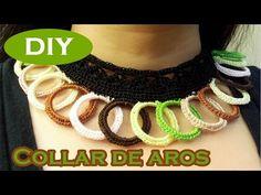 Joanne Archambault shared a video Decorative Beads, Bow Bracelet, Crochet Videos, Wire Earrings, Crochet Accessories, Anklet, Crochet Hooks, Macrame, Crochet Necklace