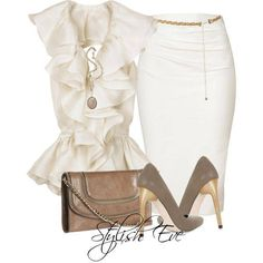 Gold & white! The perfect color combo!!