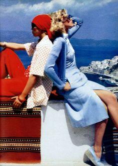 Christian Dior Tricots & Céline L'Officiel magazine 1975