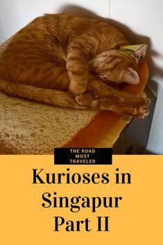 #Kurioses in #Singapur Part I kam so gut an, da habe ich doch genug Material für Part II gefunden. Plätze mit Handys und Laptops reservieren? Kein Ding in Singapur! #TheRoadMostTraveled #Singapore