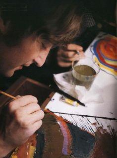 John Lennon Creating!