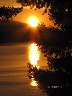 A perfect Hornby Island (B.C.) sunset <3