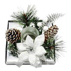 ΚΗΡΟΠΗΓΕΙΟ ΣΕ ΣΥΣΚΕΥΑΣΙΑ ΔΩΡΟΥ Christmas Wreaths, Xmas, Holiday Decor, Beauty, Home Decor, Style, Swag, Decoration Home, Room Decor