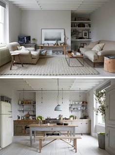 Living room furniture arrangement / A Stunning London Home In Designed By Paul Massey