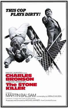 Directed by Michael Winner. With Charles Bronson, Martin Balsam, Jack Colvin, Paul Koslo. A top New York detective is sent to Los Angeles where he must solve a case involving an old Sicilian Mafia family feud. Best Movie Posters, Movie Poster Art, Film Posters, Mafia, Norman Rockwell, Actor Charles Bronson, John Ritter, Crime Film, Columbia Pictures