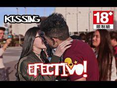 Como Besar una Chica Desconocida en la Calle   Kissing Prank - YouTube