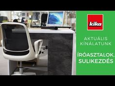 Aktuális termékkínálatunk - Íróasztalok, Sulikezdés | Kika Magyarország - YouTube Chair, Youtube, Furniture, Home Decor, Recliner, Homemade Home Decor, Home Furnishings, Decoration Home, Chairs