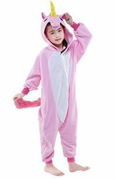 08b7f6f48b95 NEWCOSPLAY Unisex Kids Pajamas Unicorn Costumes   Check out the ...