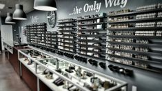 How To Succeed In The Smoke Shop Business - Modern Vape Store Design, Vape Design, Retail Display Cases, Vape Bar, Tobacco Shop, Coffee Shop Interior Design, Pharmacy Design, Lounge Design, Smoke Shops