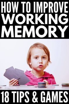 18 working memory games and strategies for kids 11 Working Memory Activities for Kids Learning Tips, Learning Support, Kids Learning, Dyslexia Strategies, Memory Strategies, Autism Resources, Activities For Adults, Therapy Activities, Special Education Classroom