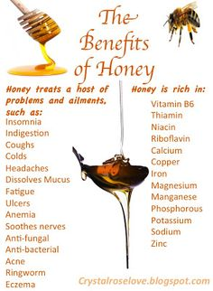 Crystalroselove's Blog: The Benefits of Honey