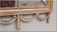 antik bútor, tükörkeret
