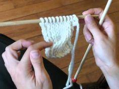 Onzième vidéo de cours de tricot : les torsades. Cours proposé par Mille Milliers de Mailles ( http://millemilliersdemailles.fr ).