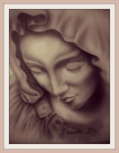 Mary Airbrush Art by Jei