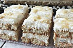 Příprava receptu Šťavnaté RAFAELLO tiramisu připravené do 10 minut, krok 7 Tiramisu, Torte Cake, Baking And Pastry, Low Calorie Recipes, Vanilla Cake, Coco, Breakfast Recipes, Caramel, Cheesecake