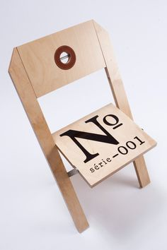 No 001 chair...