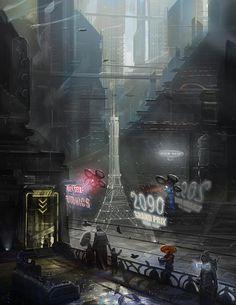 Interface Zero Paris and the Eifel Tower