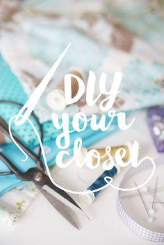 mein feenstaub – DIY, Deko, Design: #DIYyourCloset – seid mit dabei!
