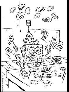 Spongebob Coloring Pages Kids Pinterest Spongebob and