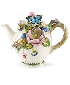 Portmeirion Serveware, Botanic Hummingbird Figural Collection - Serveware - Dining & Entertaining - Macy's