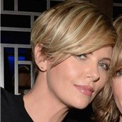 Charlize Theron and guest attend the launch of Vallure Vodka at Hakkasan Beverly Hills 165465