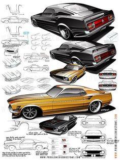 Mustang Details by Studio PCK, via Flickr: