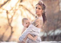 Parce que l'allaitement est un acte beau et naturel et parce qu'il fait régulièrement polémique, une photographe a décidé de le magnifier à travers une série de photo sublime...