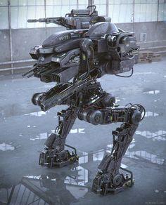 derbe der Roboter
