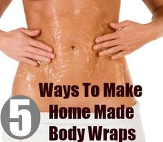 DS exclusive. homemade body wraps: homemade body wraps
