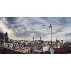 barcelona rooftops. #barcelona #spain
