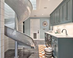 35 Best Modern Farmhouse Laundry Room Design Ideas Reveal Efficiency Space - Home Decor Ideas Home Design, Design Blogs, Best Interior Design, Küchen Design, Home Interior, Design Ideas, Creative Design, Laundry Room Cabinets, Laundry Room Storage