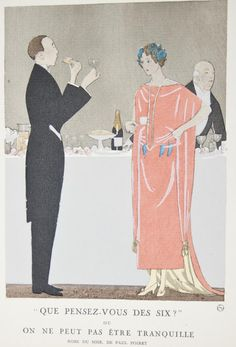 Fashion Plate, Gazette du Bon Ton, 1921