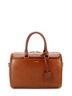 Classic Duffle 6 Leather Bag by Saint Laurent Paris at Gilt